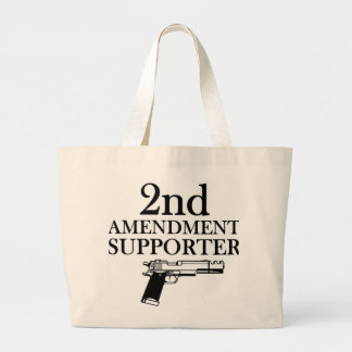 2nd AMENDMENT SUPPORTER - gun rights constitution Bags