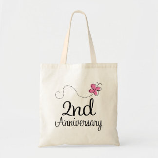 2nd Anniversary Canvas Bag
