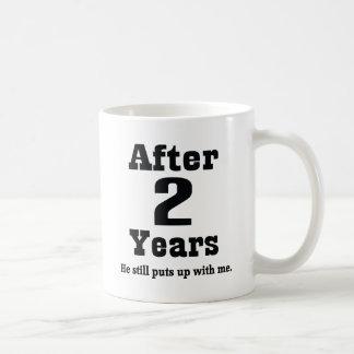 2nd Anniversary (Funny) Basic White Mug