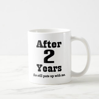 2nd Anniversary (Funny) Coffee Mug