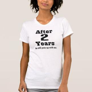 2nd Anniversary (Funny) Tshirt