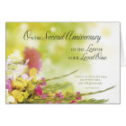 2nd Anniversary of Loss of Loved One's Death Card
