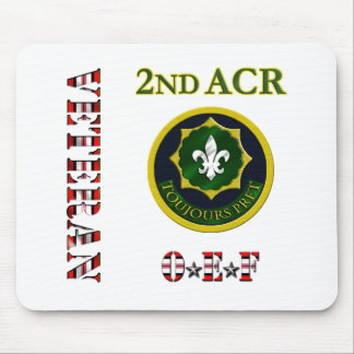 2nd Armored Cavalry OEF Mouse Pad