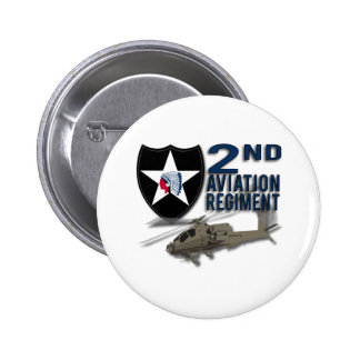 2nd Aviation Regiment - Apache Pin