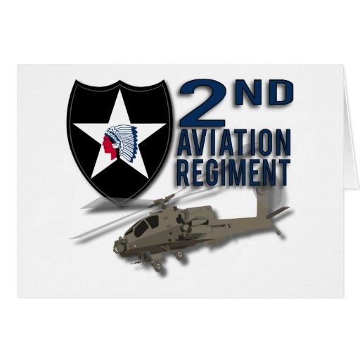 2nd Aviation Regiment - Apache Card