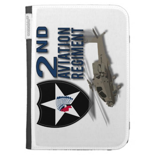 2nd Aviation Regiment - Apache Case For The Kindle