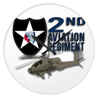 2nd Aviation Regiment - Apache Wallclocks