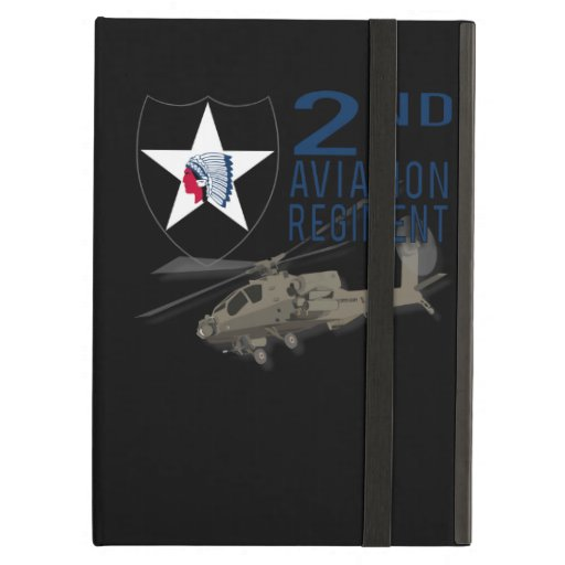 2nd Aviation Regiment - Apache iPad Covers
