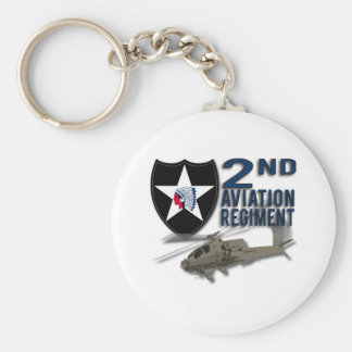 2nd Aviation Regiment - Apache Keychains