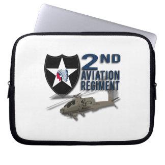 2nd Aviation Regiment - Apache Laptop Sleeve