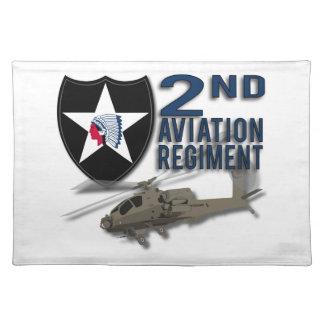 2nd Aviation Regiment - Apache Place Mat