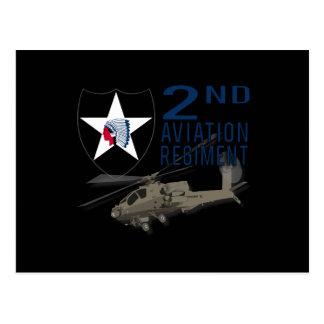 2nd Aviation Regiment - Apache Postcard
