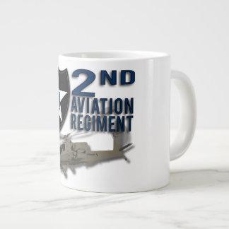 2nd Aviation Regiment - Apache Extra Large Mug