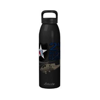 2nd Aviation Regiment - Apache Reusable Water Bottles
