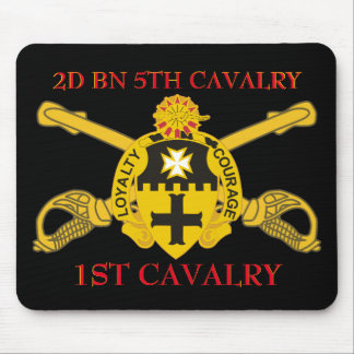 2ND BATTALION 5TH CAVALRY 1ST CAVALRY MOUSEPAD