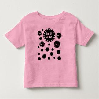 2nd Birthday 2 Year Old Fun Bubbles V06C Tshirt