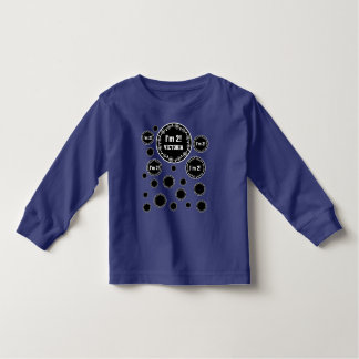 2nd Birthday 2 Year Old Fun Bubbles V09W Toddler T-Shirt