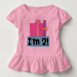 2nd Birthday 2 Year Old Tshirt Gift