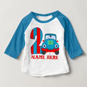 2nd Birthday2 Years Old Baby T Shirt