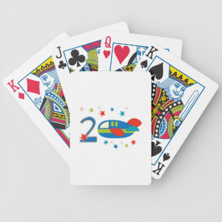 2nd Birthday Airplane Deck Of Cards