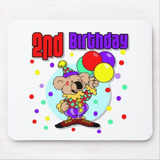 2nd Birthday Australia Birthday Mousepad