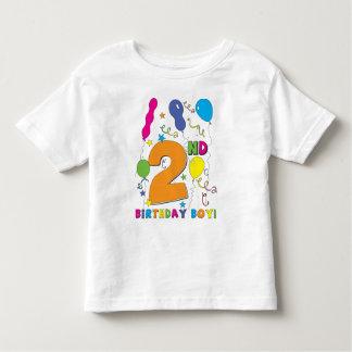 2nd Birthday Boy! Toddler T-Shirt