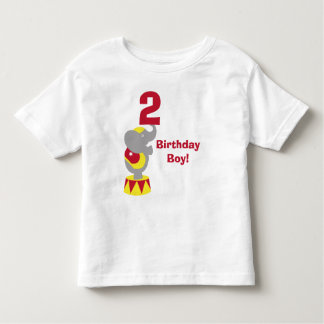 2nd Birthday Circus Elephant T-Shirt