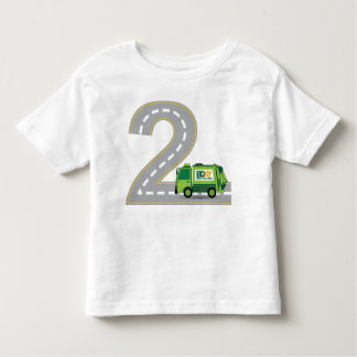 2nd Birthday Garbage Truck T-shirt