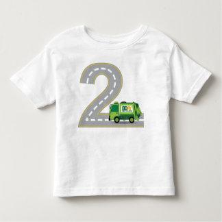 2nd Birthday Garbage Truck T-shirt