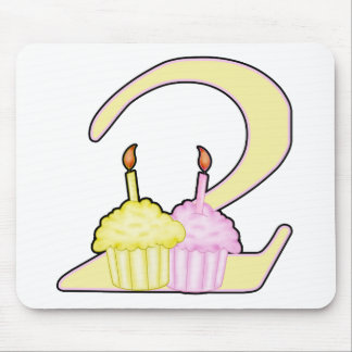 2nd Birthday Mouse Pads