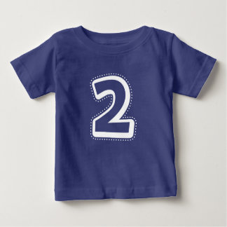 2nd Birthday Number Shirt