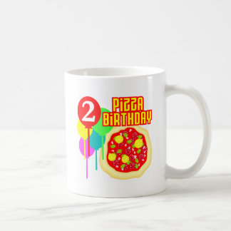 2nd Birthday Pizza Birthday Mug