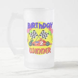2nd Birthday Race Car Birthday Coffee Mug