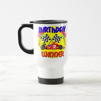 2nd Birthday Race Car Birthday Mug