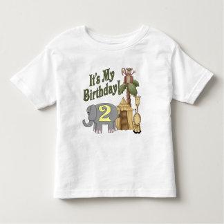 2nd Birthday Safari Toddler T-Shirt