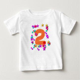 2nd birthday starry baby T-Shirt