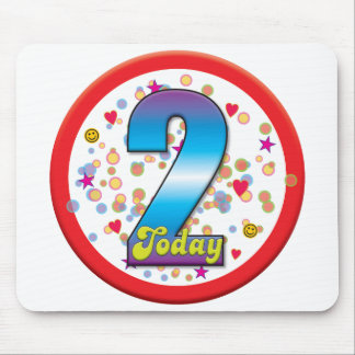2nd Birthday Today v2 Mousemats
