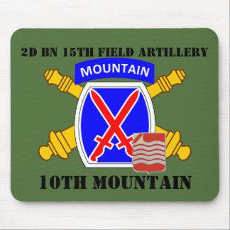 2ND BN 15TH FIELD ARTILLERY 10TH MOUNTAIN MOUSEPAD