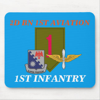 2ND BN 1ST AVIATION 1ST INFANTRY MOUSEPAD