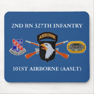 2ND BN 327TH INFANTRY 101ST AIRBORNE MOUSEPAD