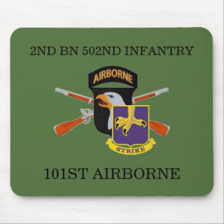 2ND BN 502ND INFANTRY 101ST AIRBORNE MOUSEPAD