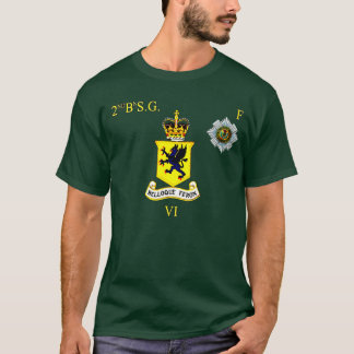 2nd bn Scots Guards F Company T-Shirt