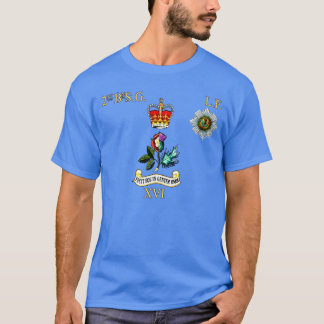 2nd bn Scots Guards Left Flank T-Shirt