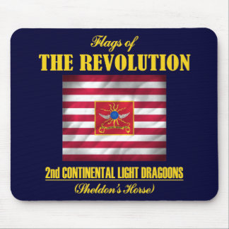 2nd Continental Light Dragoons Mouse Mat