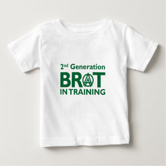 2nd Generation Brat in Training Baby T-Shirt