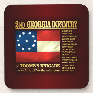 2nd Georgia Infantry (BA2) Coasters
