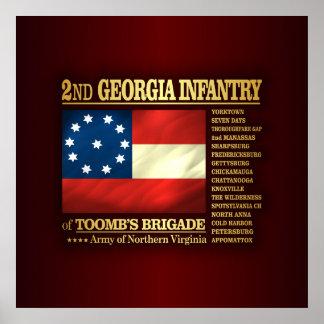 2nd Georgia Infantry (BA2) Poster