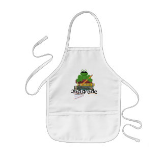 2nd Grade Frog School Gift Aprons