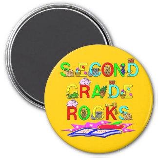 2nd Grade Rocks Refrigerator Magnets