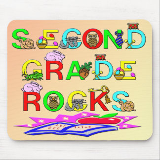 2nd Grade Rocks Mousepads